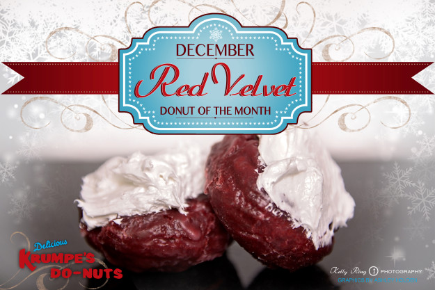 Nothing says #HappyHolidays like Krumpe's Do-Nut Shop Inc. #RedVelvet Cake #Donuts.